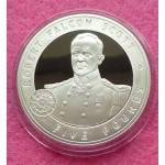 2006-GUERNSEY-GREAT-BRITONS-ROBERT-FALCON-SCOTT-5-SILVER-PROOF-COIN-COA-331195383692