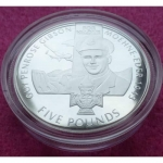 2006-JERSEY-VICTORIA-CROSS-GUY-GIBSON-FIVE-POUND-5-SILVER-PROOF-COIN-AND-COA-231222655021