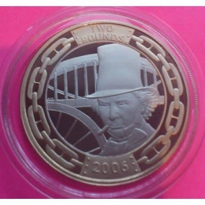 2006-ROYAL-MINT-BRUNEL-200TH-ANNIVERSARY-PROOF-2-TWO-POUND-COIN-330877388869