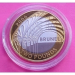 2006-ROYAL-MINT-BRUNEL-ARCHES-SILVER-GOLD-2-TWO-POUND-PROOF-COIN-BOX-COA-231044466229
