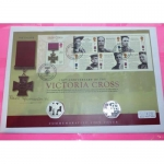 2006-ROYAL-MINT-SILVER-PROOF-VICTORIA-CROSS-FDC-SIGNED-BY-BILL-SPEAKMAN-VC-331087967361