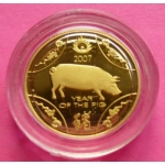 2007-AUSTRALIA-LUNAR-SERIES-YEAR-OF-THE-PIG-110TH-GOLD-PROOF-COIN-BOX-AND-COA-330988056370