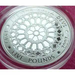 2007-ROYAL-MINT-HM-QUEEN-DIAMOND-WEDDING-SILVER-PROOF-5-FIVE-POUND-COIN-331193381828