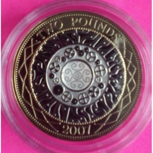 2007-ROYAL-MINT-UK-SHOULDERS-GIANTS-PROOF-TWO-POUNDS-COIN-330867216725