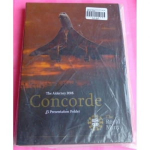 2008-ALDERNEY-CONCORDE-5TH-ANN-OF-THE-LAST-FLIGHT-5-COIN-SEALED-GIFT-PACK-331154507195