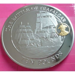 2008-GIBRALTAR-BATTLE-OF-TRAFALGAR-250TH-ANN-5-oz-SILVER-PROOF-COIN-BOX-AND-COA-231187559643
