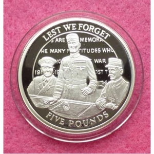 2008-GIBRALTAR-WORLD-WAR-I-90TH-ANNIVERSARY-FIVE-POUND-SILVER-PROOF-COIN-231246467911