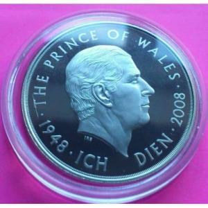 2008-ROYAL-MINT-PRINCE-CHARLES-60TH-BIRTHDAY-SILVER-PROOF-5-FIVE-POUND-COIN-330877382445