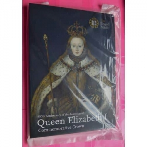 2008-ROYAL-MINT-QUEEN-ELIZABETH-1ST-450TH-ANN-BU-5-COIN-BRAND-NEW-AND-SEALED-331147556974