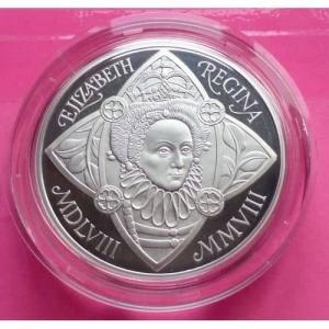 2008-ROYAL-MINT-QUEEN-ELIZABETH-I-SILVER-PIEDFORT-PROOF-5-COIN-BOX-AND-COA-331041463423