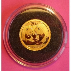2009-CHINA-GOLD-PANDA-20-YUAN-PROOF-LIKE-COIN-AND-COA-330902803694