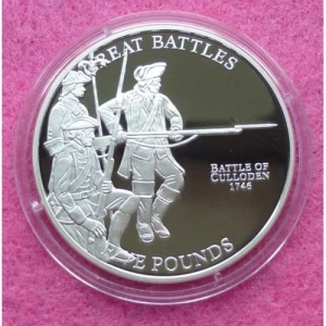 2009-JERSEY-BATTLE-OF-CULLODEN-FIVE-POUND-SILVER-PROOF-COIN-231247238389