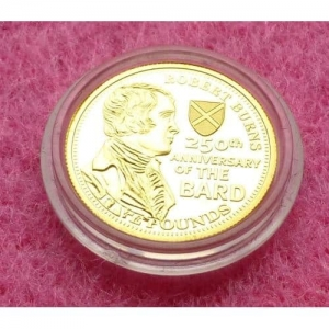 2009-TDC-ROBERT-BURNS-250TH-ANN-OF-THE-BARD-5-24-CT-GOLD-PROOF-COIN-AND-COA-330885622451