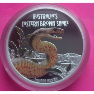 2010-TUVALU-BROWN-SNAKE-SILVER-PROOF-AUSTRALIAN-VERSION-COIN-RARE-COIN-330899420737