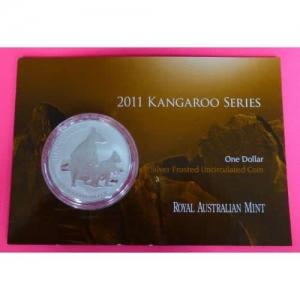 2011-AUSTRALIA-KANGAROO-1-ONE-DOLLAR-SILVER-1oz-COIN-WITH-MINT-CARD-331171046243