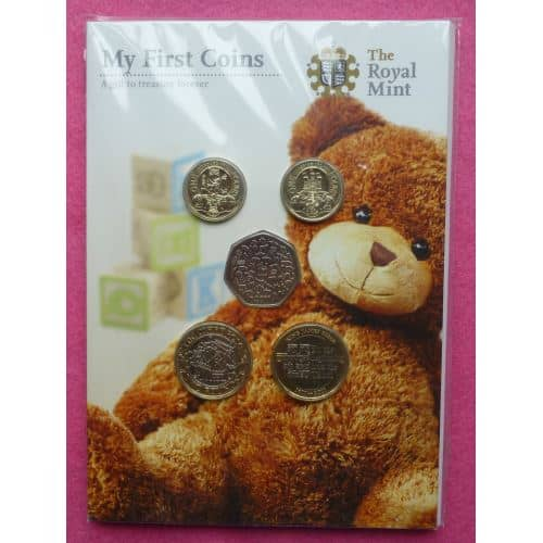 2011 Royal Mint Baby Coin Gift Set Lovely Inc Mary Rose King James Bible The Coin Connection