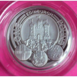2011-ROYAL-MINT-SILVER-CAPITAL-CITIES-EDINBURGH-1-ONE-POUND-PROOF-COIN-330937999737