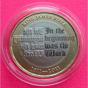 2011-ROYAL-MINT-UK-KING-JAMES-BIBLE-TWO-POUND-PROOF-COIN-MINT-CONDITION-330957632331