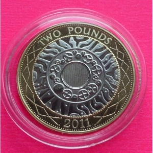 2011-ROYAL-MINT-UK-SHOULDERS-GIANTS-2-TWO-POUND-PROOF-COIN-231073138268