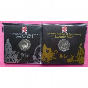 2012-ROYAL-MINT-OLYMPIC-AND-PARALYMPIC-TWO-FIVE-POUND-COIN-SET-NEW-AND-SEALED-330875893770