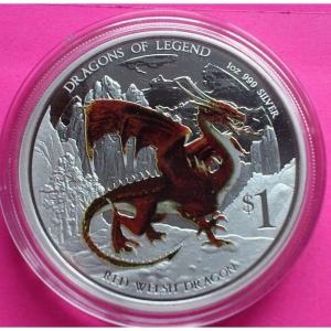 2012-TUVALU-SILVER-RED-WELSH-DRAGON-1-ONE-DOLLAR-PROOF-COIN-BOX-COA-330886958647