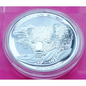 2014-AUSTRALIA-KOALA-1-ONE-DOLLAR-SILVER-1oz-COIN-BEAUTIFUL-331149133701