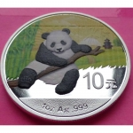 2014-CHINA-PANDA-DAY-10-YUAN-1oz-COLOURED-SILVER-COIN-ENCAPSULATED-331115728788