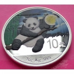2014-CHINA-PANDA-NIGHT-10-YUAN-1oz-COLOURED-SILVER-COIN-ENCAPSULATED-231145231175