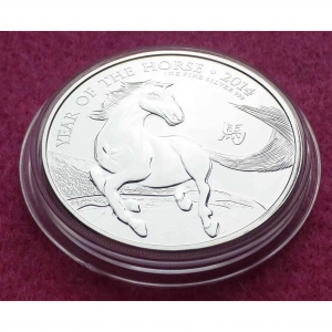 2014-ROYAL-MINT-LUNAR-HORSE-2-TWO-POUNDS-SILVER-1oz-COIN-GORGEOUS-331210903077