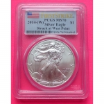 2014-W-UNITED-STATES-FIRST-STRIKE-PCGS-MS70-SILVER-EAGLE-1-ONE-DOLLAR-COIN-331171062578