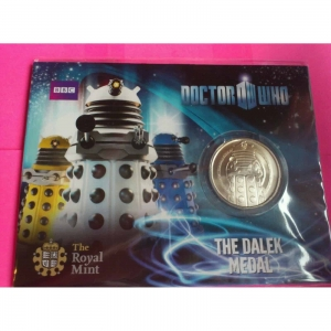 ROYAL-MINT-DR-WHO-COLLECTABLE-COIN-DALEK-MEDALCOIN-331069259230