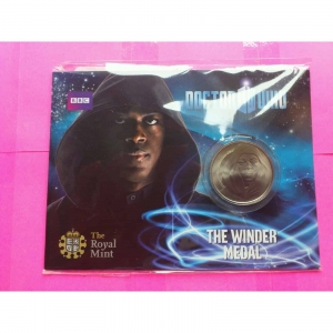 ROYAL-MINT-DR-WHO-COLLECTABLE-COIN-THE-WINDER-MEDALCOIN-330886997804